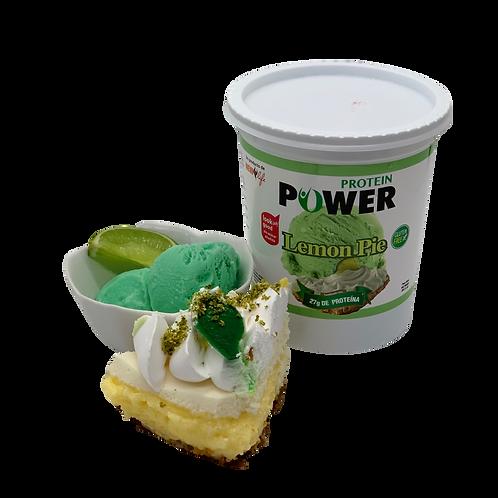 Helado lácteo con proteína sabor lemon pie