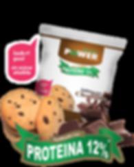 Galletas con chocolate y proteína Protein Power by New Life