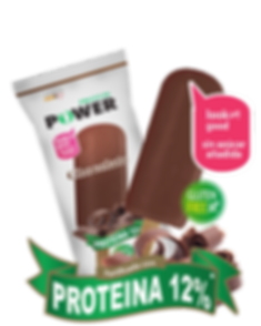 Helado con proteína saor chocolate Protein Power by New Life Costa Rica