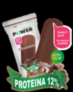 Helado con proteína saor chocolate Protein Power by New Life Costa Rica