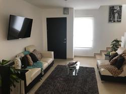 Casa modelo sala