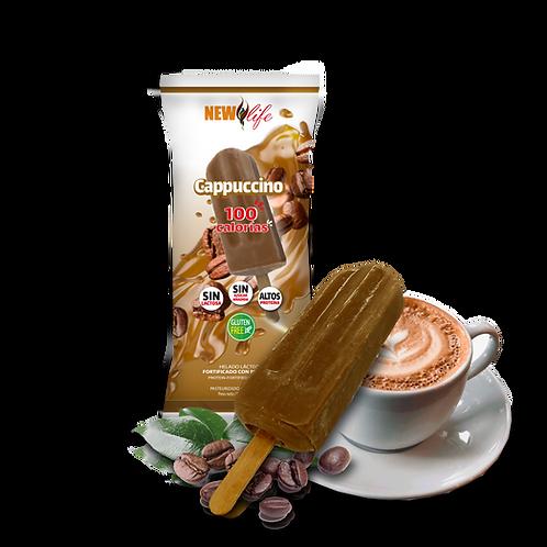 Helado lácteo con proteína sabor cappuccino