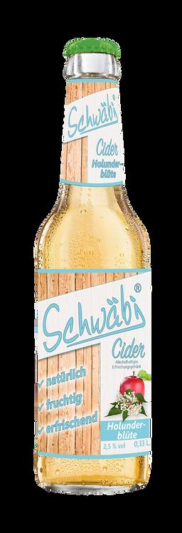 Schwäbi Cider Holunderblüte
