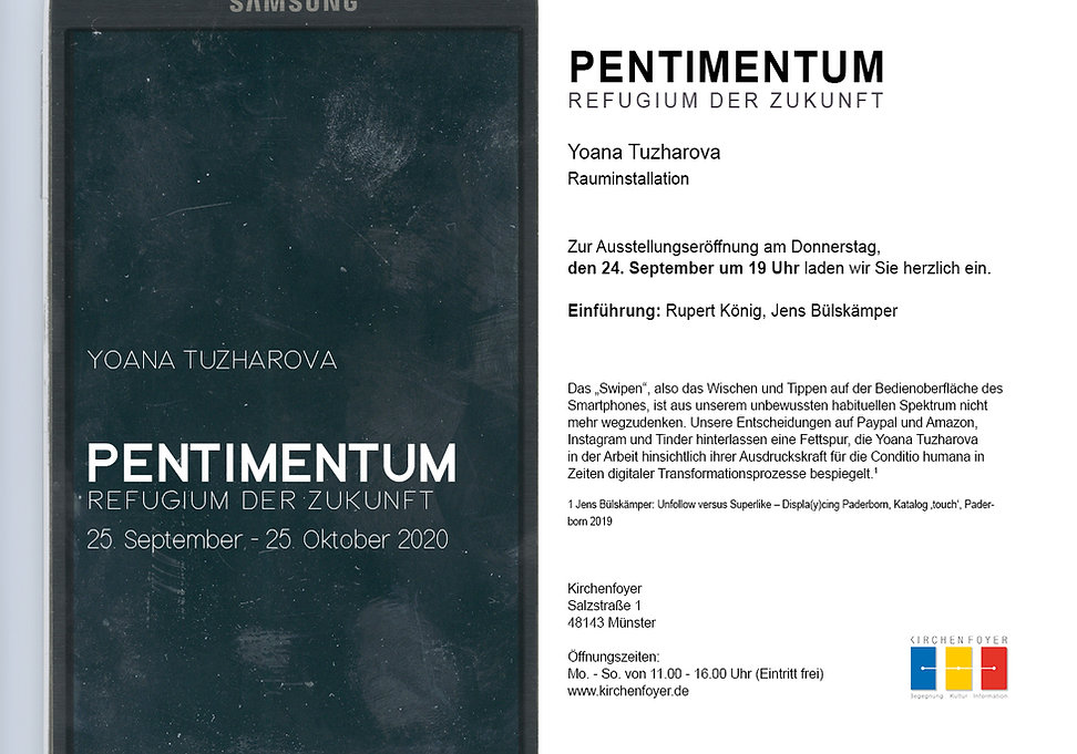 Flyer_Pentimentum_Yoana Tuzharova_druck.