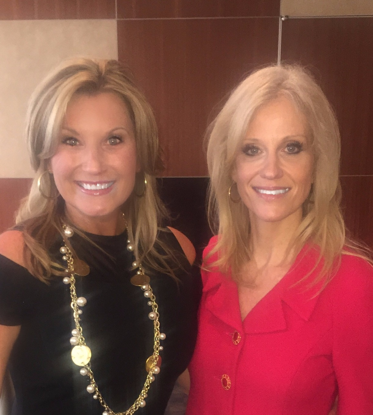 Leslie Gaines Craven and Kellyanne Conway
