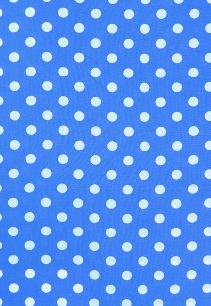 Point de polka bleu Imprimer