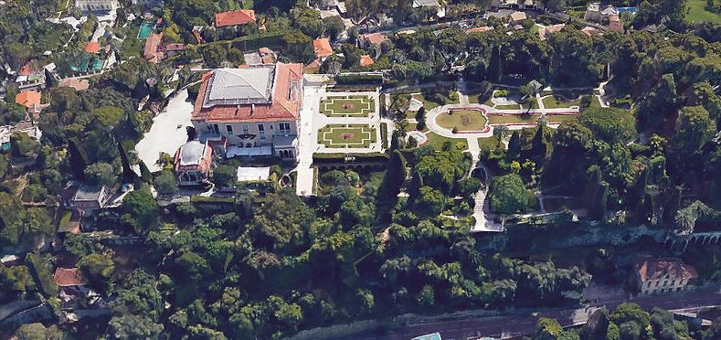 Villa Ephrussi de Rothschild (Saint-Jean-Cap-Ferrat)  Assistance technique à maîtrise d'ouvrage Etude de conservation des lots techniques