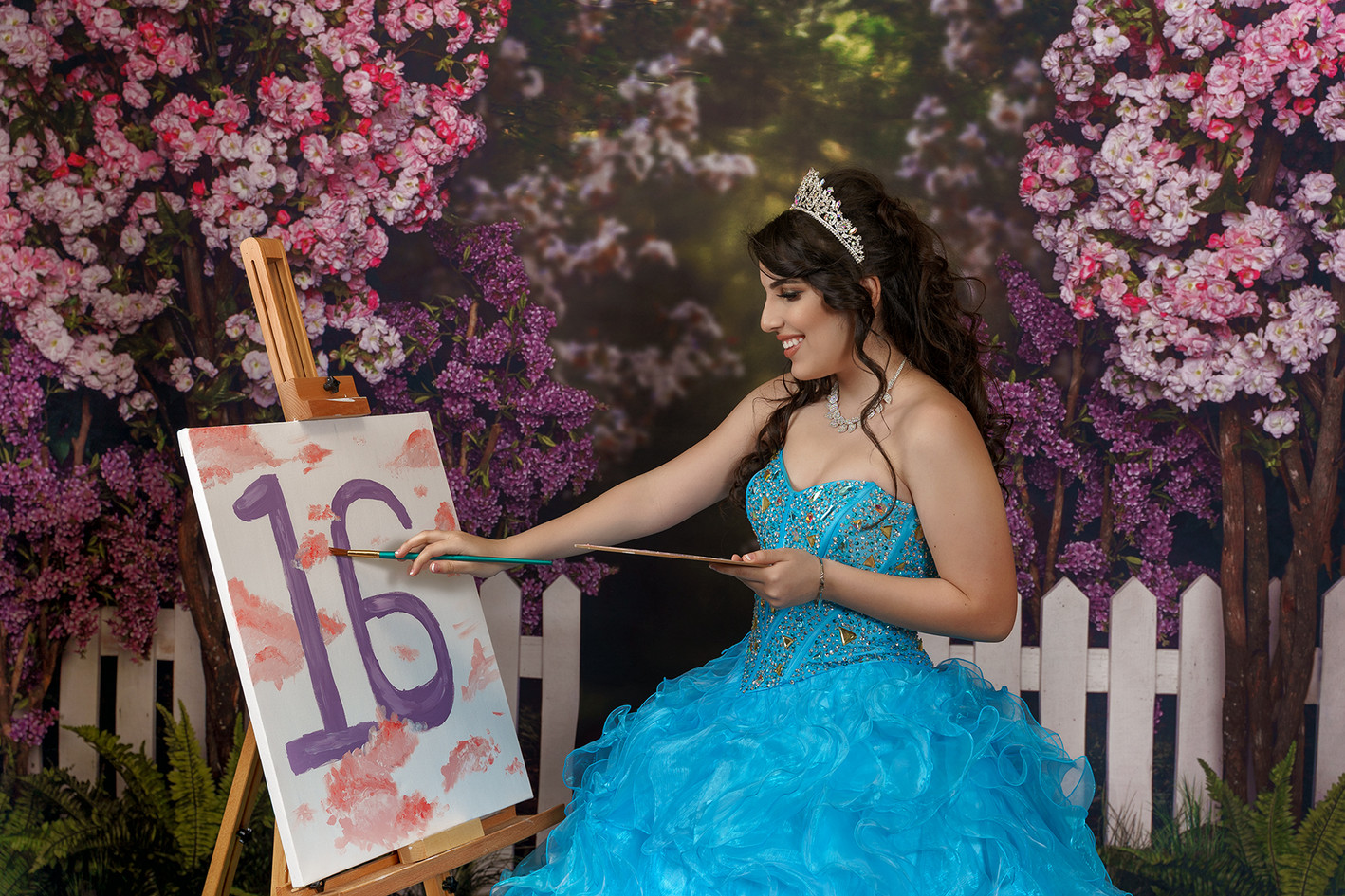 Quinceanera Studio Photo Shoot