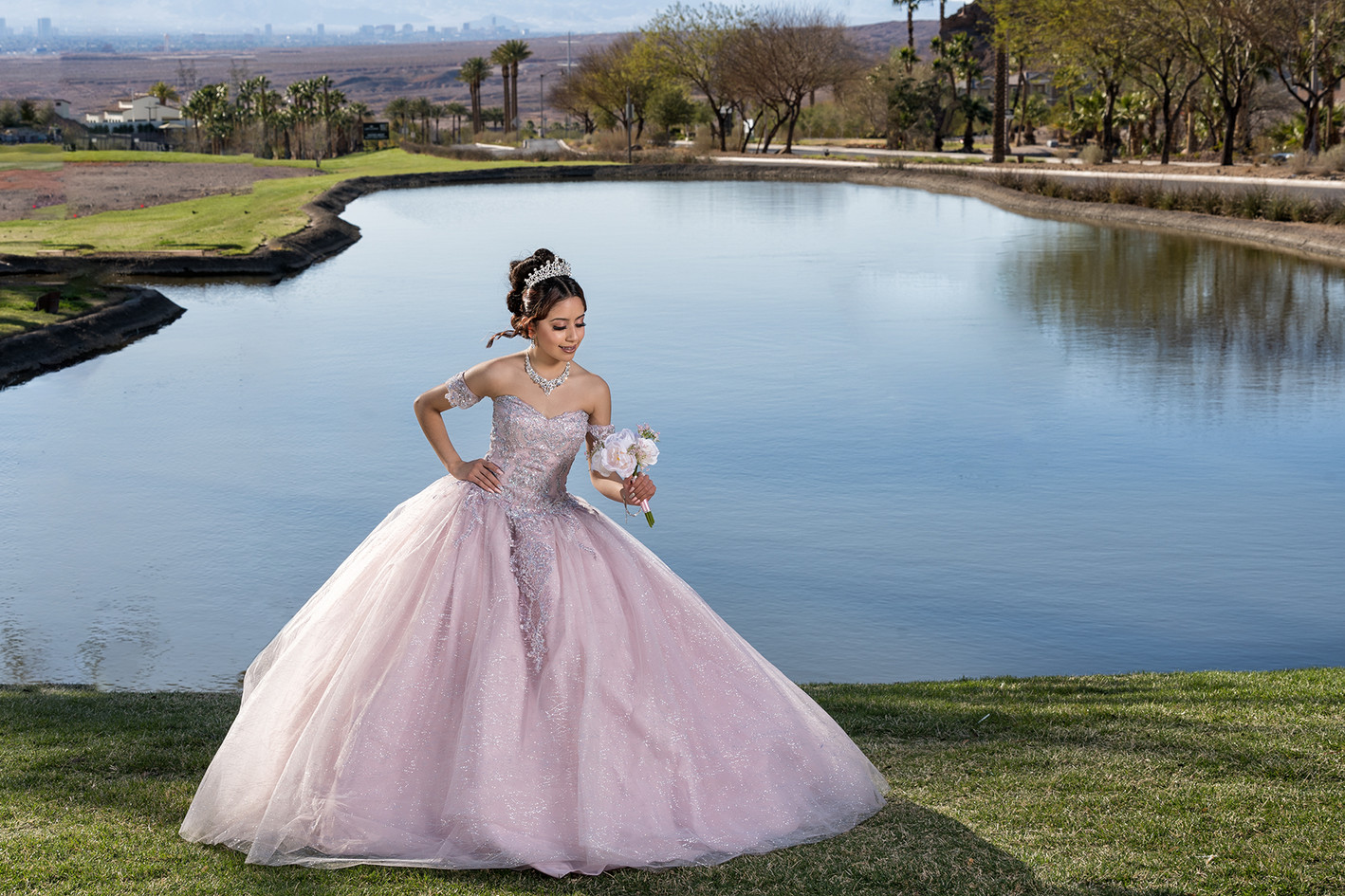 Quinceañera in Lake Las  Vegas
