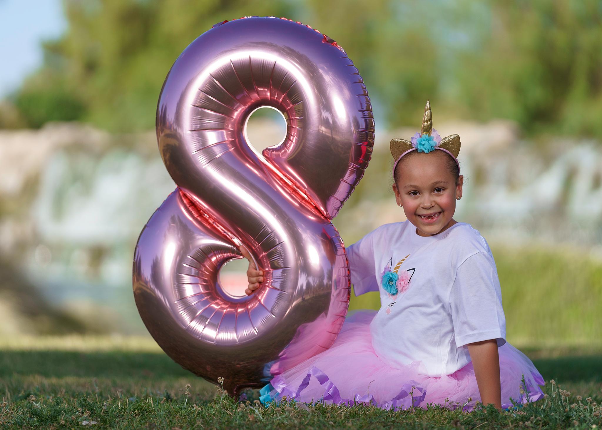 8th Birthday Photo Shoot