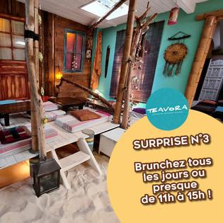 ❤️ SURPRISE N°3 | BRUNCHEZ TOUS LES JOURS OU PRESQUE !!!