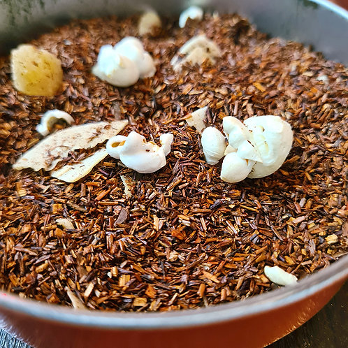 Rooibos Nuage d'Amandes | Amandes grillées, ananas, papaye, cannelle, coco...