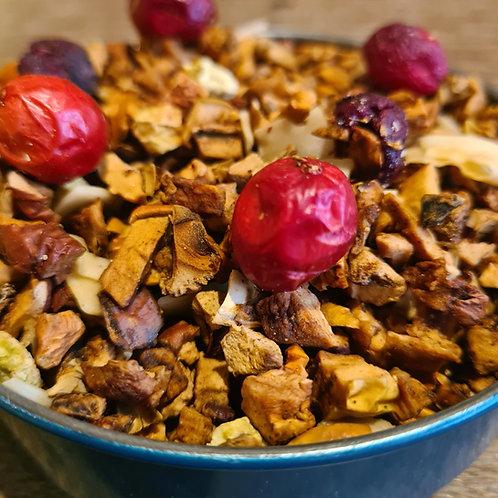 Infusion Un petit coquin | Pomme, coco, kiwi, cerise, canneberges