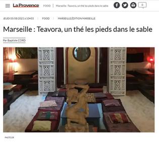 💓 Teavora dans le journal la Provence