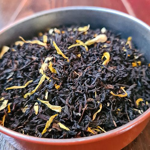 Thé noir Etoile de Bali   Jasmin, cerise, souci, baie de goji