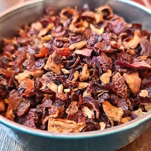 Infusion Cordoba | Eglantier, pomme, hibiscus, coco, ananas, jacquier