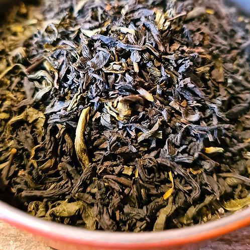 Secret Tibétain | Thé noir et vert Bio, bergamote, vanille, épices