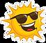 happy-sun-with-sunglasses-sticker-153921