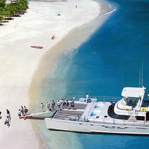 Tortuga Island Catamaran