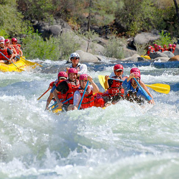 Rafting and Canopy