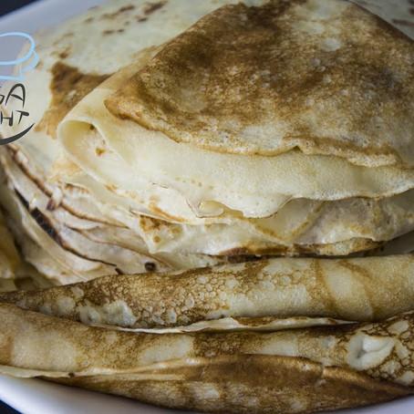Blini Rezept - Russische Pfannkuchen | Блины