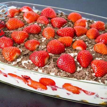 Erdbeer-Tiramisu | Schichtdessert | No Bake