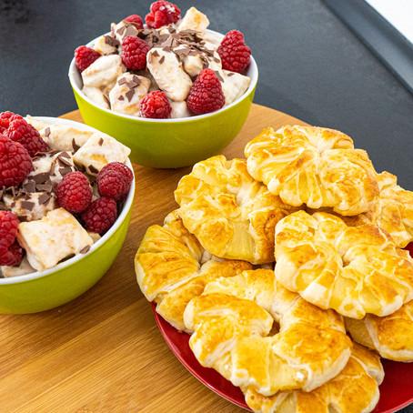 2 Coole Rezeptideen mit Blätterteig | Falsche Torte & Ananas umwickelt mit Blätterteig