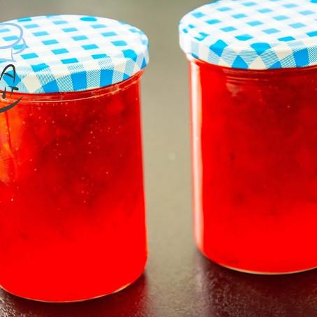 Erdbeerenmarmelade - 1:1 Gelierzucker Rezept