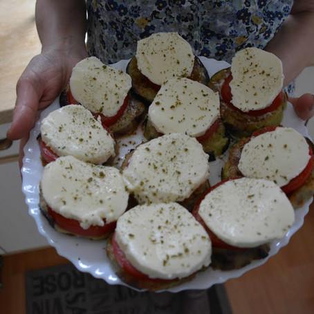 Tomaten Auberginen Antipasti | Antipasti selber machen