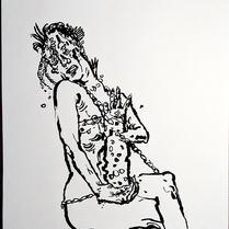 """TrAVAscope 02"" Philipe Sidharta | Tinta sobre papel"