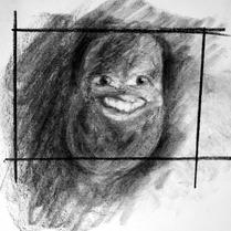 """05 segundos"" Vii Lennard | Grafite sobre papel Canson (21x30cm)"