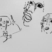 Wilnes Henrique | Nanquim sobre papel