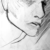 """Re 2"" Vii Lennard | Grafite sobre papel Canson (21x30cm)"