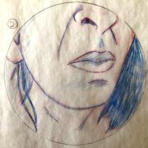 Camila Monart | Lápis e guache sobre papel (A5)