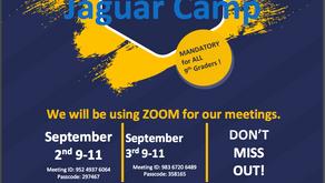 Incoming Freshman Jaguar Camp