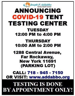Addabbo testing poster Covid.jpg