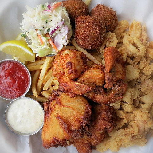 Fried Seafood Combination