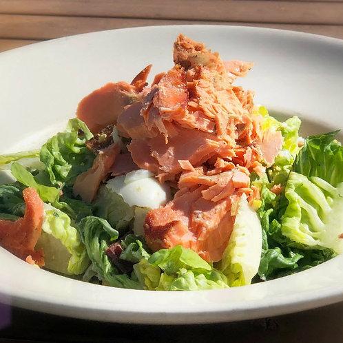 House-Smoked Salmon Salad (GF)