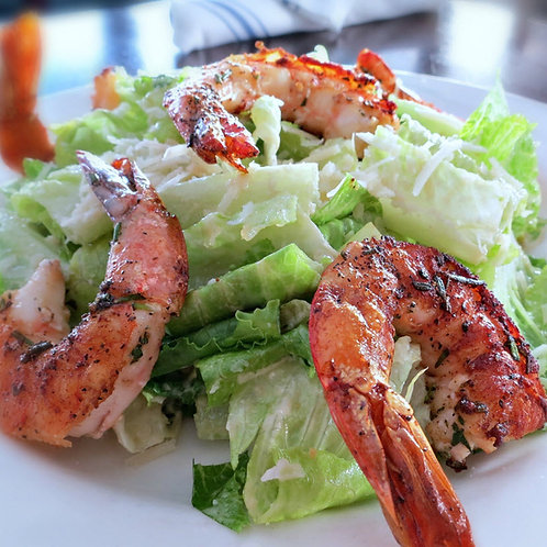 Caesar Salad (prawns or salmon optional)
