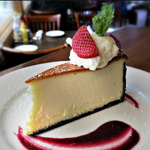 """Classic """"New York Style""""Cheesecake"""