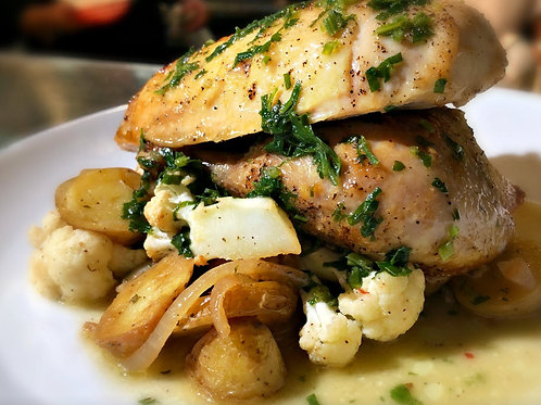 Roasted Half Chicken (GF)