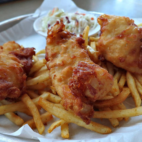 Fish and Chips (1-3 pieces)