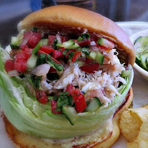 Maryland Lump Blue Crab Sandwich