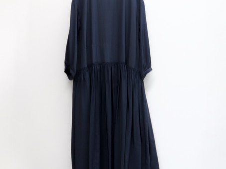A&S Gather bottom long dress