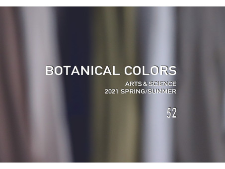 ARTS&SCIENCE 2021SPRING/SUMMER