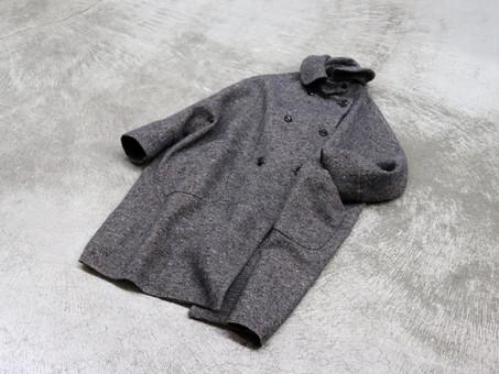 A&S Small collar balloon coat