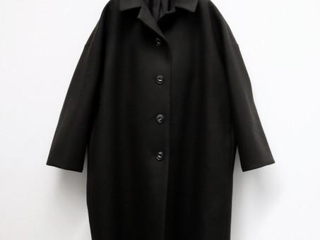 A&S Back tuck granny coat