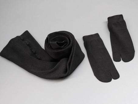 TACHINO CHIE Silk leggings &socks