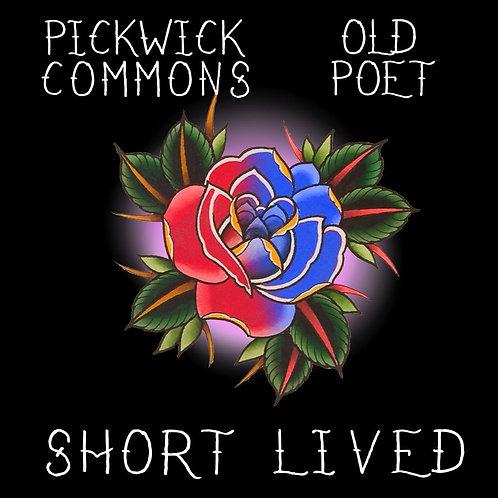"""Digital Download of """"Short Lived"""" Split EP w/ Old Poet"""