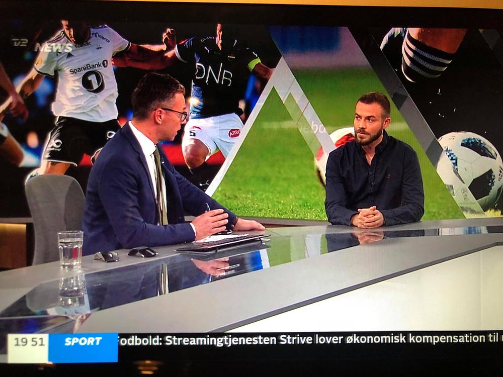 HH Performance talking sport psychology on national TV